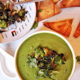 Spinach, Broccoli and Cilantro Soup