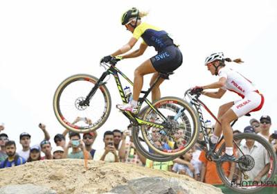 Rissveds verrast iedereen, Michiels 21e in het mountainbike