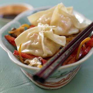 Steamed Shrimp Dumplings.