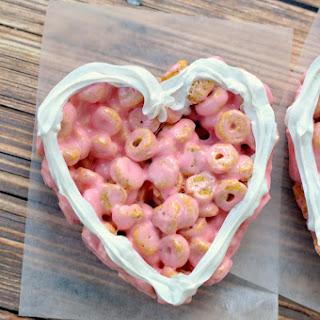Strawberry Marshmallow Cereal Treats.