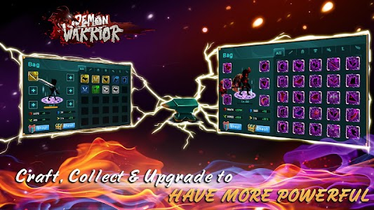 Demon Warrior v1.4 Mod Money + Free Shopping