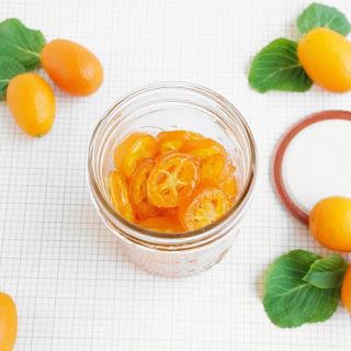 Candied Kumquat and Kumquat Simple Syrup