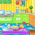 House Clean Up Rooms icon