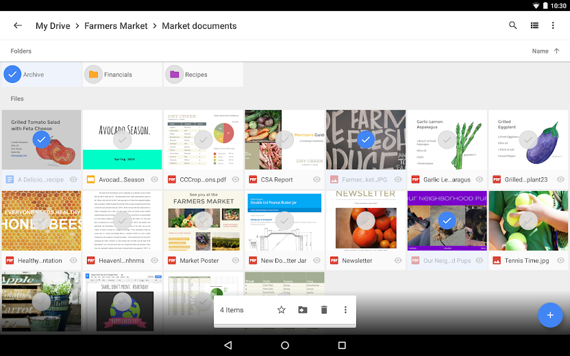 Screenshot 8 for Google Drive's Android app'