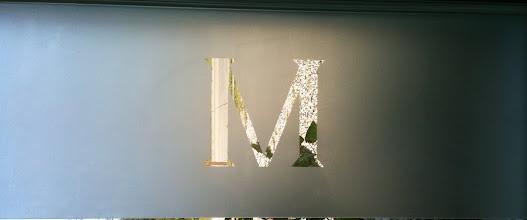 Photo: Monogram etching