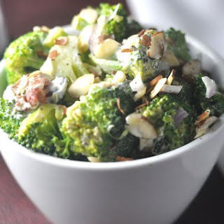 Broccoli Bacon Salad - Low Carb, Gluten-Free, Ketogenic.