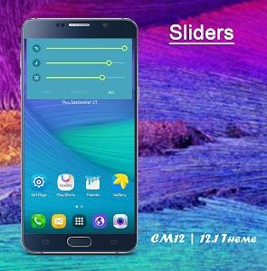 CM12/12.1 Theme Galaxy Style v1.1