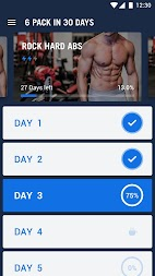 Six Pack in 30 Days - Abs Workout APK screenshot thumbnail 12