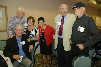 Photo: ?, Scott Johnson, Betty (Hodgkins) Donohoe, Diane Malette, Jim Collins, Steve Hodgkins