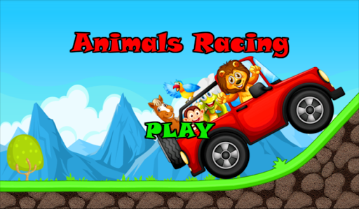 Animals Racing Hill Climb Farm
