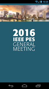 2016 IEEE PES General Meeting- screenshot thumbnail