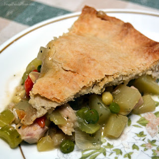 Homemade Turkey Pot Pie