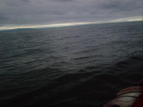 Photo: Ominous skies across the Strait of Georgia.