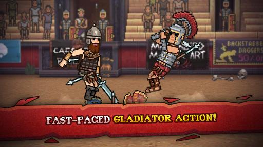 Gladihoppers - Gladiator Battle Simulator! 2.1.0 screenshots 1