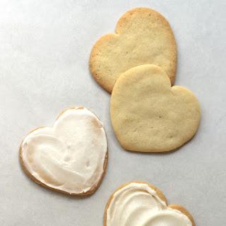 Iced Vanilla Cookies.