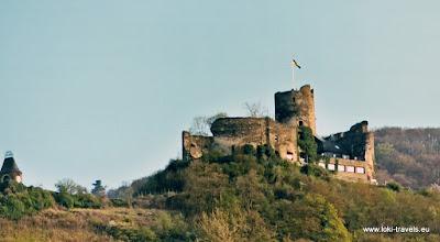 Photo: Bernkastel. Burchtruïne Landshut.