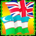 Uzbek English Phrasebook icon