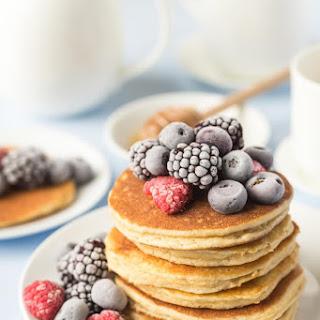Perfect Paleo Pancakes with Almond Flour.