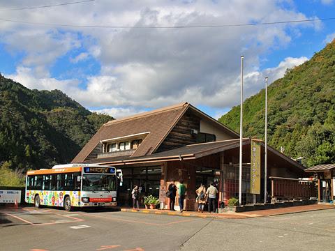奈良交通「八木新宮線」 ・960 十津川温泉バスセンターにて その1