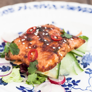 Ginger and Soy Glazed Salmon