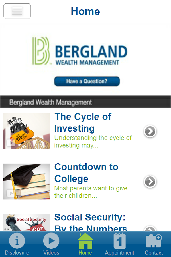 Bergland Wealth Management- screenshot
