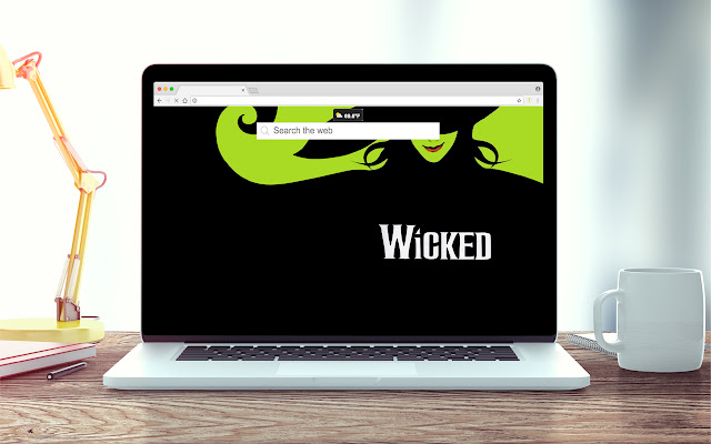 Wicked Wallpapers New Tab Theme