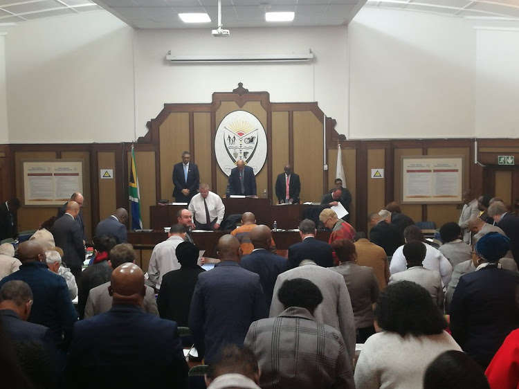 The Nelson Mandela Bay council meeting on Thursday morning was over before it even really started.