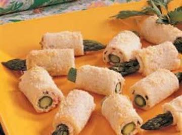 Asparagus Roll Ups Recipe