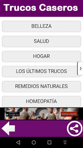 TRUCOS CASEROS 2.0