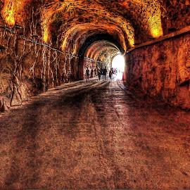 rosh hanikra by Abu  Janjalani Abdullah - Transportation Roads ( roads, transportation )