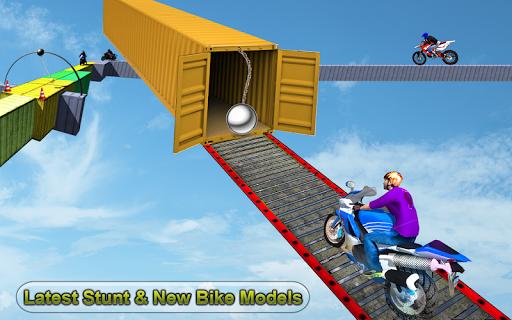 Racing Moto Bike Stunt -Impossible Track Bike Game apkdebit screenshots 9