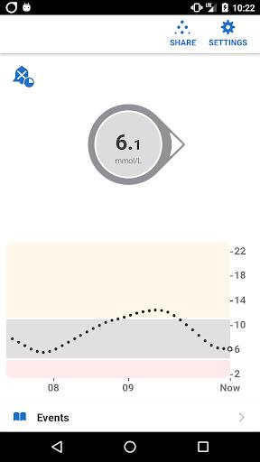 Dexcom G6 mmol/L DXCM1 1.5.6.0 screenshots 1