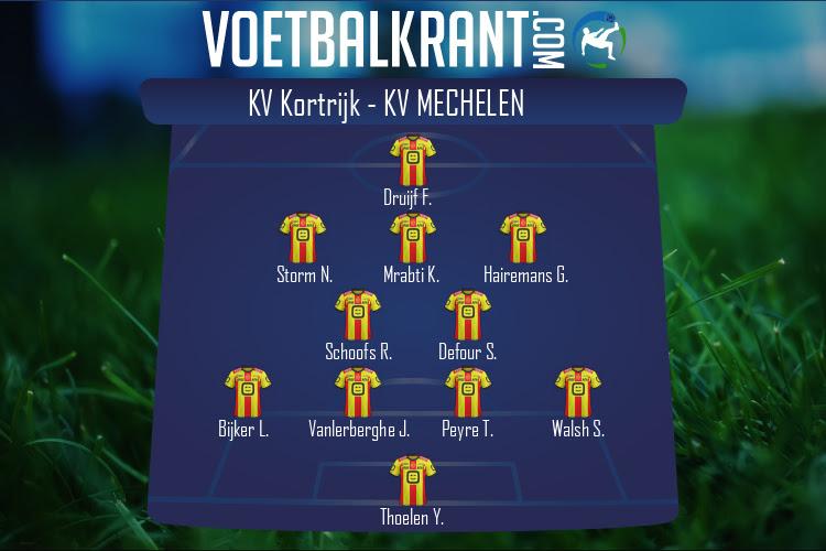 KV Mechelen (KV Kortrijk - KV Mechelen)
