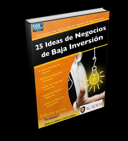GUIA NEGOCIOS BAJA INVERSION