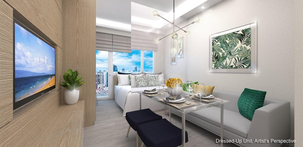 Red Residences, Chino Roces, Makati dining area