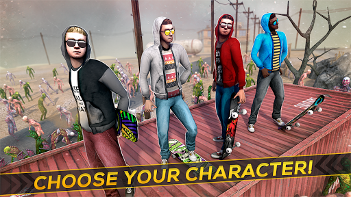 Skateboard Pro Zombie Run 3D 2.11.2 screenshots 9
