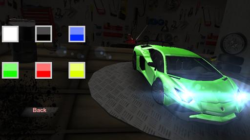 Aventador Simulator  captures d'u00e9cran 1