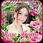 Rose Frame or Flower Frames Icon