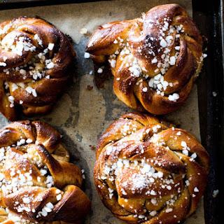 Swedish Cardamom + Cinnamon Buns