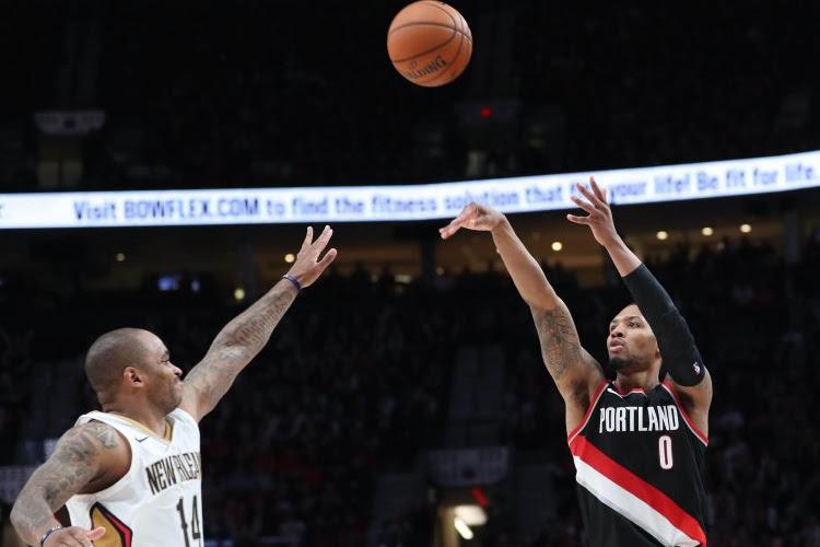 🎥 Uitblinker Damian Lillard bezorgt Portland met onwaarschijnlijke driepunter een ticket voor halve finale in Western Conference