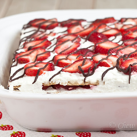 icebox pie with almond crust recipes dishmaps strawberry icebox pie ...