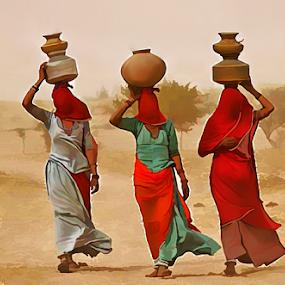 by Kamran Khan - Digital Art People ( cholistan )