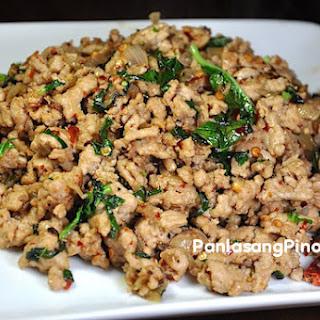 Ground Chicken Filipino Recipes.
