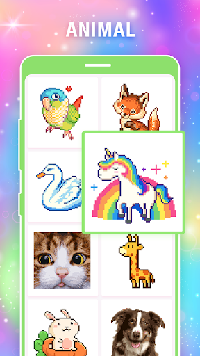Pixel Art: Coloring Book Draw Doodle Arts Game  trampa 5