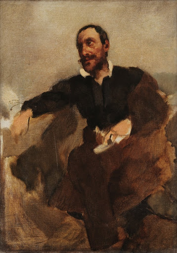 Camões (study for Camões and the Tágides)