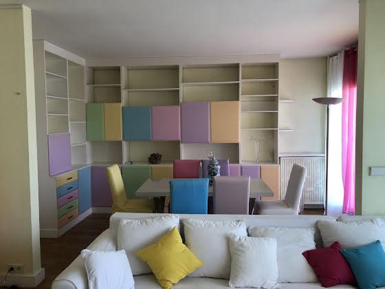 Location appartement meublé 5 pièces 105 m2