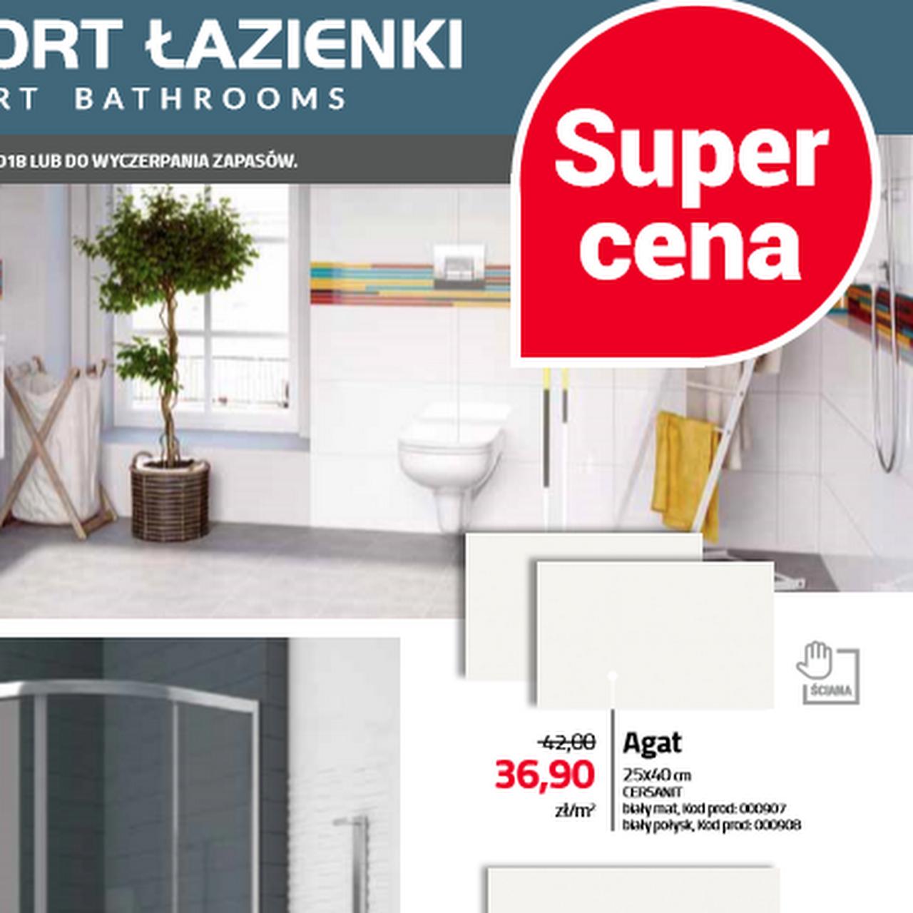 Komfort łazienki Wyposażenie łazienek W Kraków