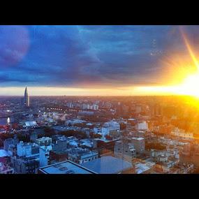 The last sunrise. Montevideo. by Charles Brooks - Instagram & Mobile Instagram