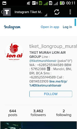 Tiket Murah Lion Air screenshot