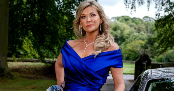 Claire King is filming Emmerdale return now